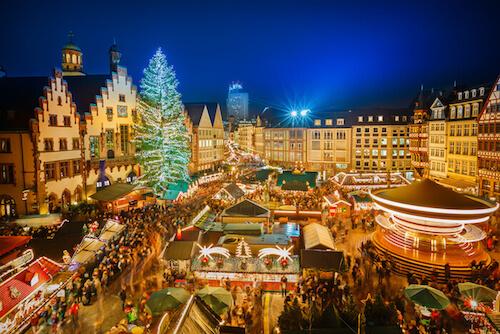 Christmas in Germany: Christmas Market in Frankfurt - image by S.Borisov