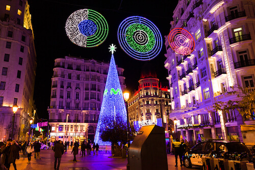 Christmas market in Madrid - Christmas markets