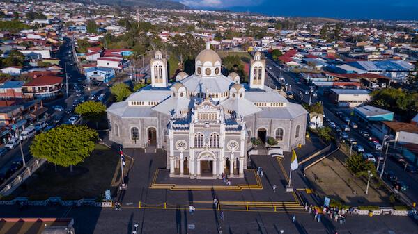 Basilica of Cartago in Costa Rica