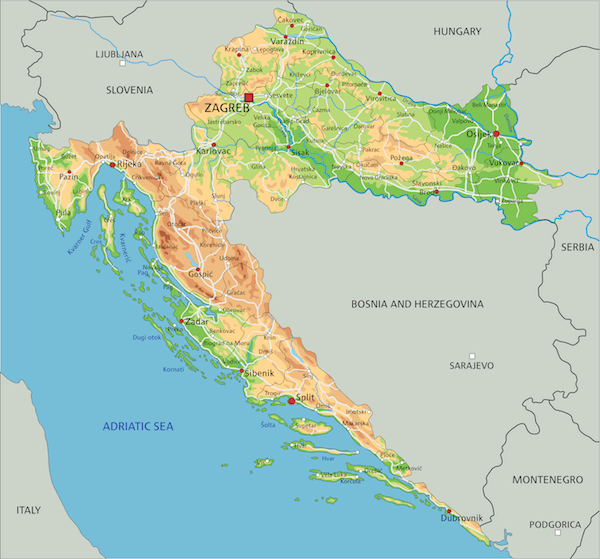 Croatia Facts For Kids Facts About Croatia Geography Animals