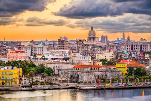 Cuba's capital city Havana