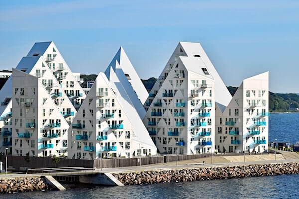 Aarhus' stunning Iceberg buildings - image by Balipadma/shutterstock.com