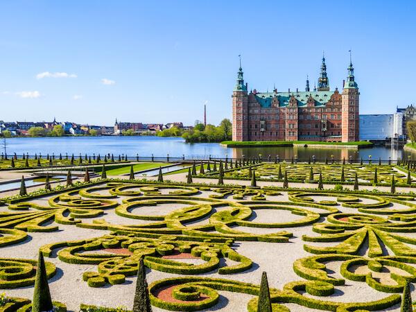 Denmark's Frederiksborg castle and gardens