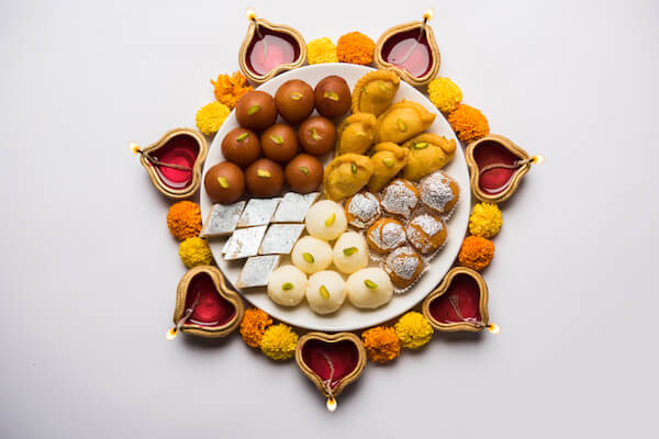 Typical Diwali Sweets
