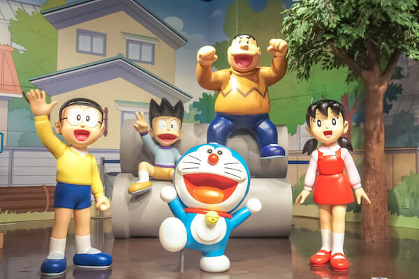 Japanese Doraemon - image by enchanted fairy/shutterstock.com