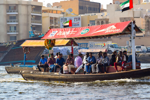 Crossing Dubai Creek - image by Shashank Agarwal