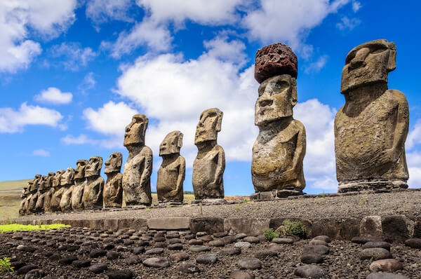 Easter Island Statues are called Moais