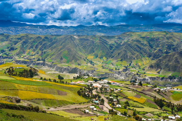 Andes Mountain villages