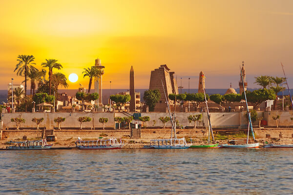 Luxor in Egypt