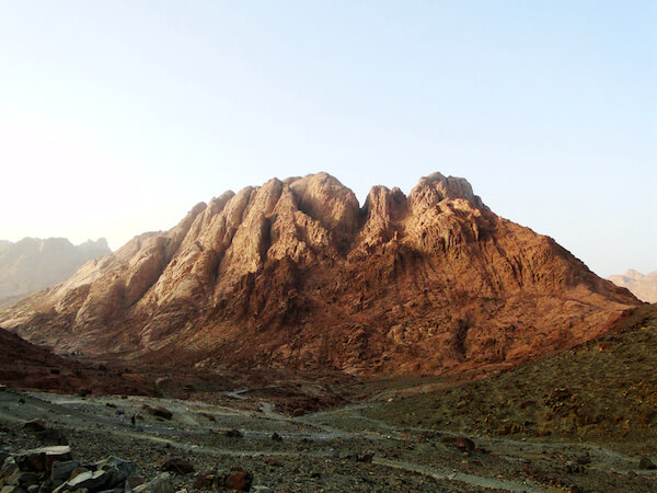 Mount Sinai also called Jabal Musa in Egypt