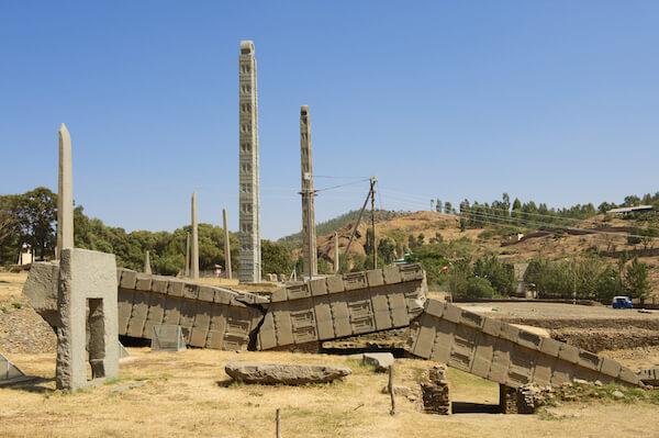 Axum Stelae in Ethiopia