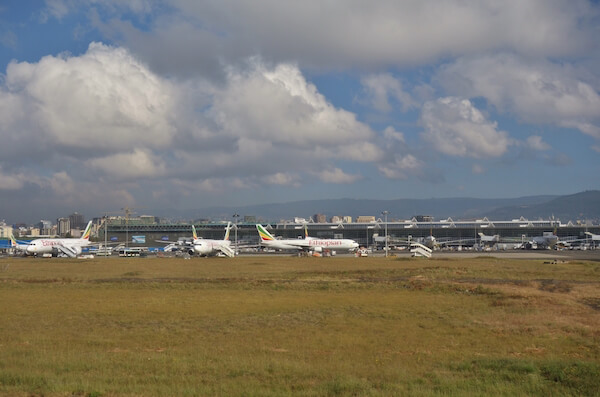 Bole International Airport is home to Ethiopian airlines - image by EQRoy/shutterstock.com