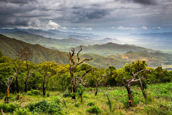 Great Rift Valley in Ethiopia