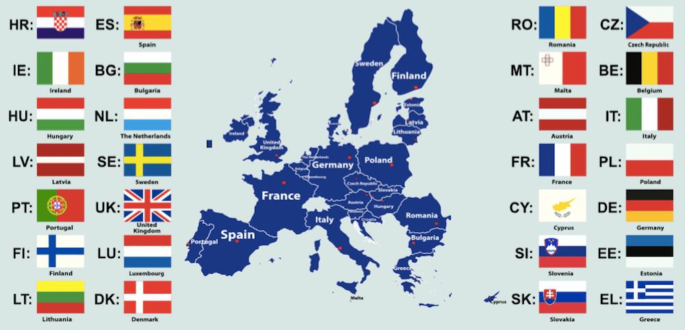 European Union countries - image by TetianaYurchenko/shutterstock.com