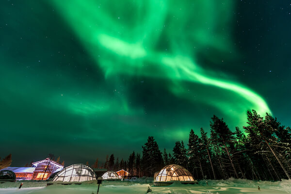 Aurora Borealis in Finlan