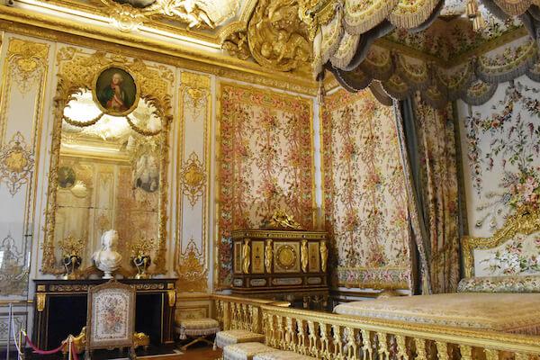 Queens Bedroom at Versailles - image by Gabriela Beres/shutterstock.com