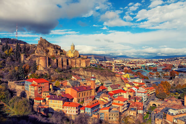 Tbilisi - capital city of Georgia