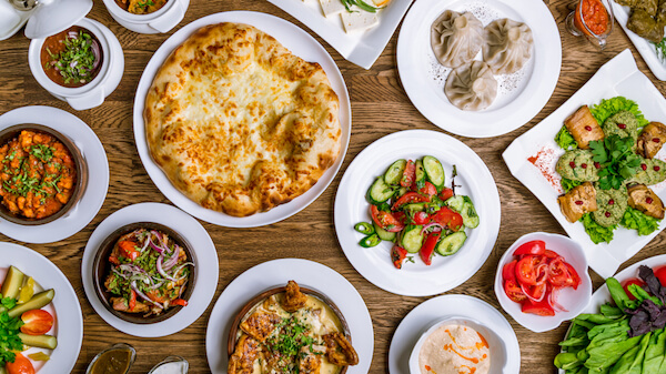 Typical Georgian dishes - Maxim Ratov/shutterstock.com