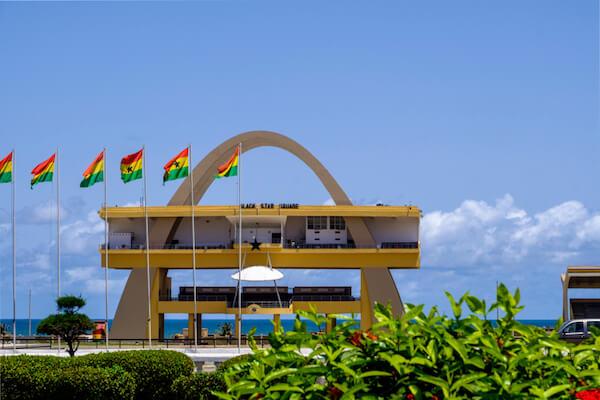 Ghana's Black Star Square in Accra