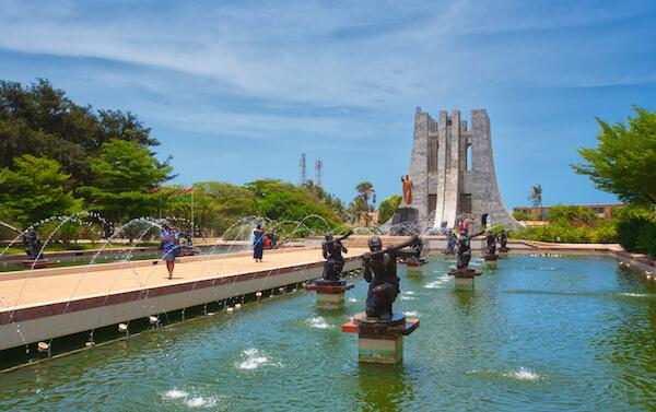 Kwame Nkrumah Memorial in Ghana - image by Truba7113/shutterstock