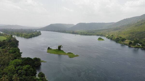 Lake Volta is the world's largest artificial lake.