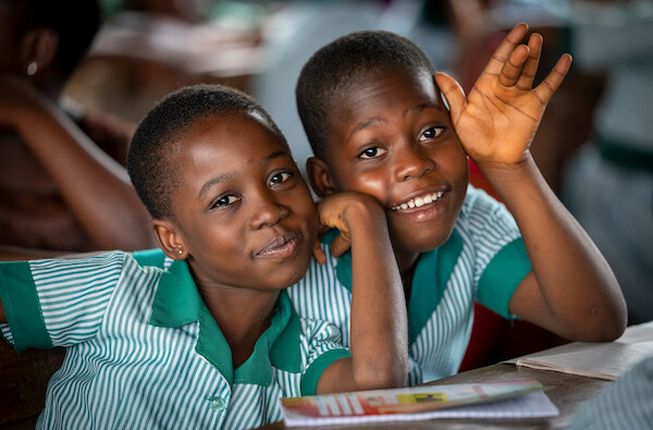 Ghana schoolkids - image by James Dalrymple/shutterstock