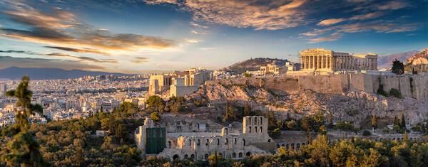 Views over Athens