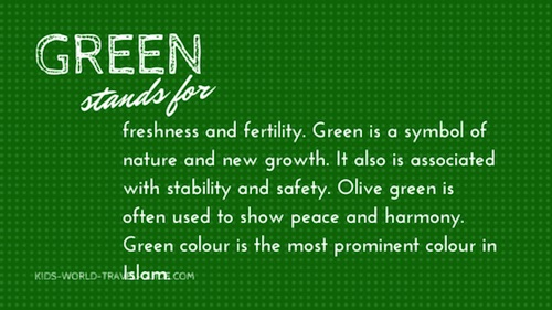 what is the meaning of green city Green, by nature, is the most calming of all the colors on the color wheel it encourages growth, reflection, peace and balance it also represents healing and fertility.