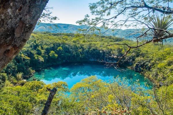 Cenote de Candelaria in Guatemala - image:shutterstock.com