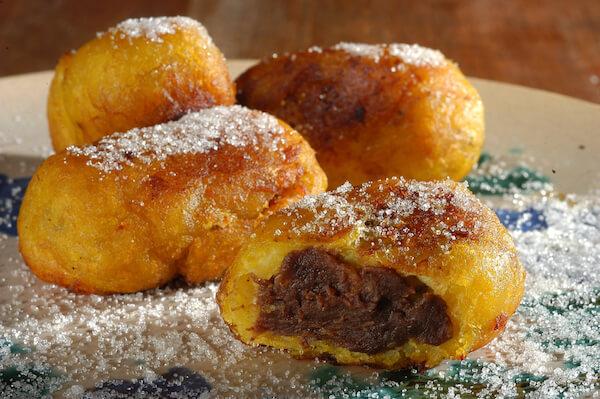Guatemalan dessert: rellenitos