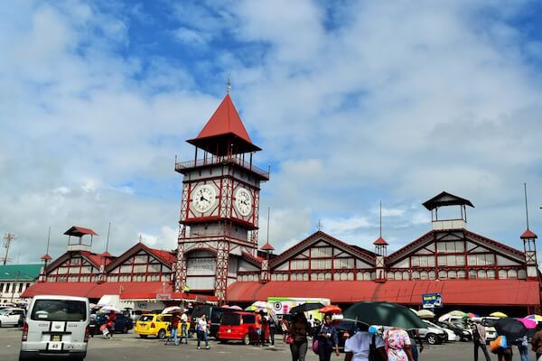 Stabroekmarket in Georgetown Guyana