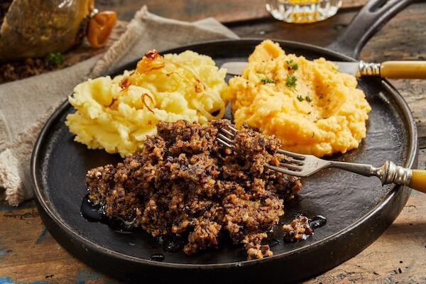 Typical Scottish Haggis