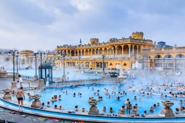 Thermal bath in Budapest - image by Izabela23/shutterstock.com