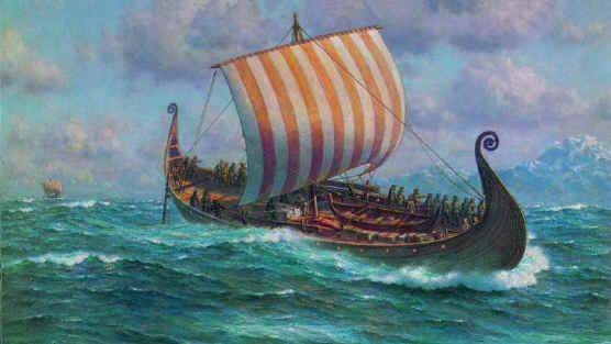 Iceland Facts Viking boat from Pamela E. Mack at www.clemson.edu