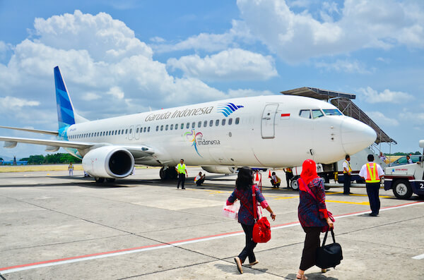 Indonesian Garuda airlines - image by Cesc Assawin/shutterstock.com