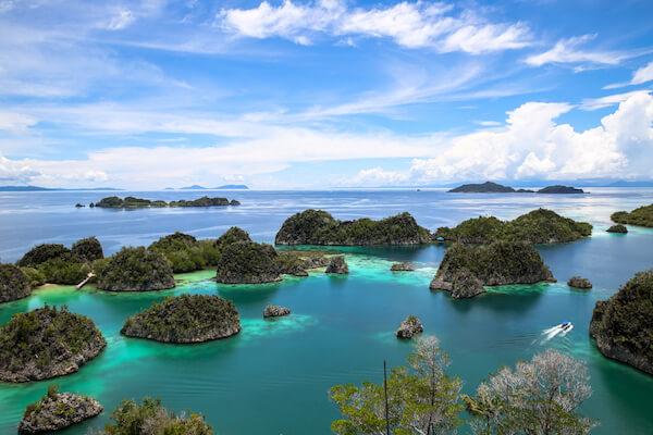 Raja Ampat Islands in West Papua