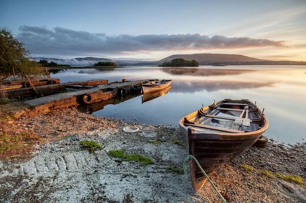 Boat at Lough Corrib
