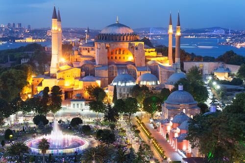 Hagia Sofia in Istanbul/Turkey