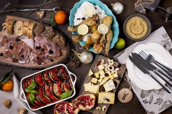 Italy Christmas food - antipasti