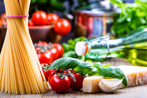 Italian food ingredients - Italy Facts for Kids