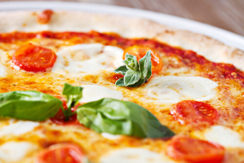 Typical Pizza Margherita