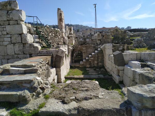 Ancient ruins of Smyrna in Izmir