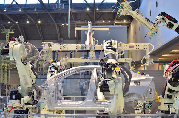 Jjapan car assembly line - image by Bandit Chanheng/shutterstock.com