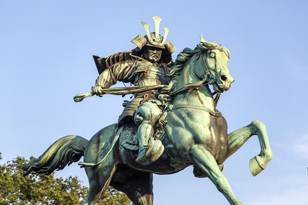 Kusunoki Masashige statue - image by Goran Bogicevic/Shutterstock.com