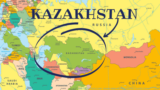 Kazakhstan is the largest landlocked country in the world