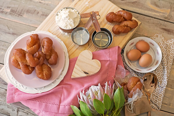 Typical South African food: Koeksisters