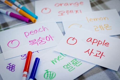 Korean Language Flashcards