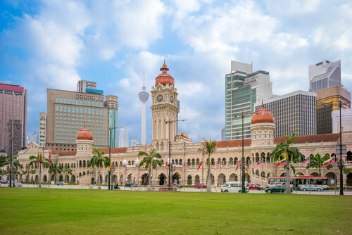 Sultan Abdul Samad building, former court building in Kuala Lumpur