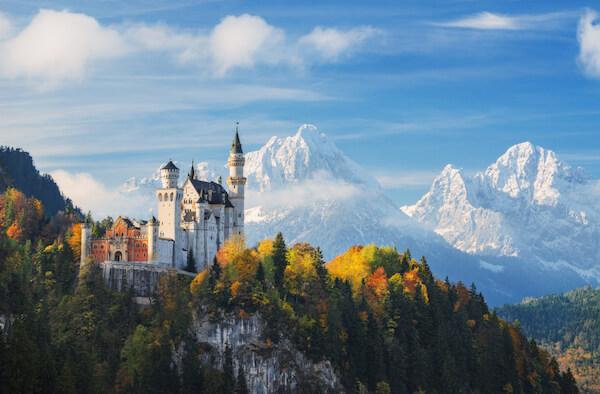 Neuschwanstein Castle in Bavaria/Germany