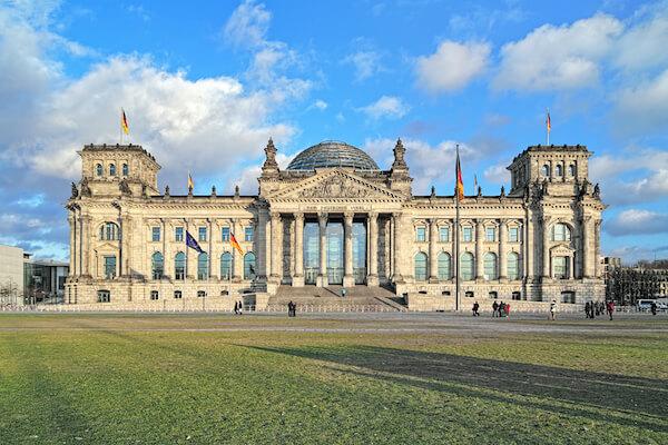 Reichstag - Parliament Building in Berlin